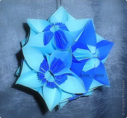 Кусудама Оригами Цветочная