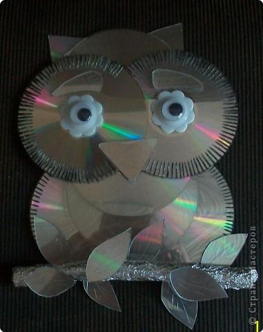 Поделки из сд дисков своими руками мастер