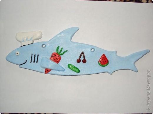 Ну вот, дорогие мастерицы, и моя первая рыбка ))) Принимайте в свой аквариум моего шеф-повара!