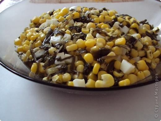 Салат с морской капустой. фото 1