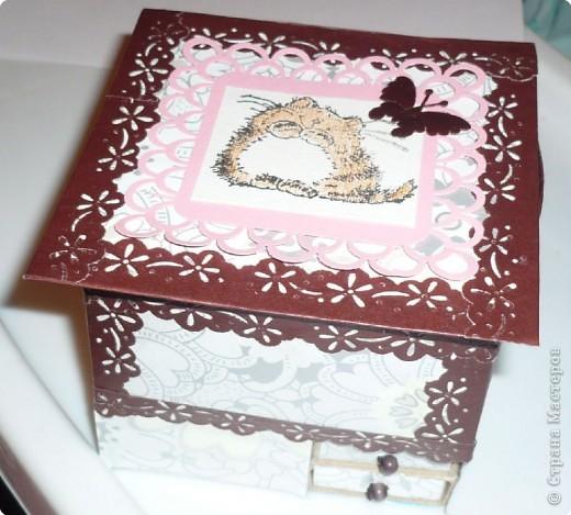 наборчик (комодик и открытка) фото 1