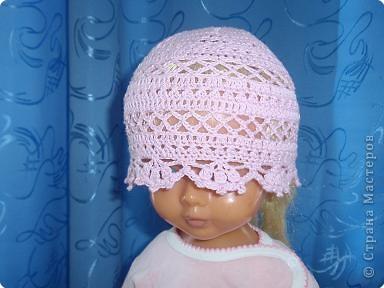 Вязание крючком Летние шапочки Нитки фото 8