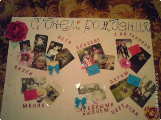 Плакат на день рождение бабушке
