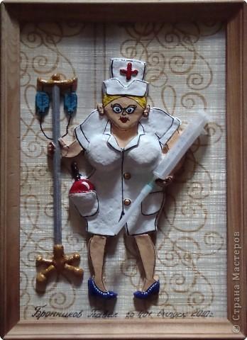 Лепка: Медсестра фото 1