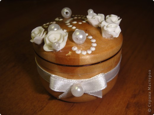 Лепка: Свадебная солонка фото 1