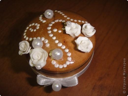 Лепка: Свадебная солонка фото 2
