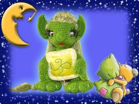 Игрушка День рождения Вязание крючком Хранитель снов Пряжа фото 1.