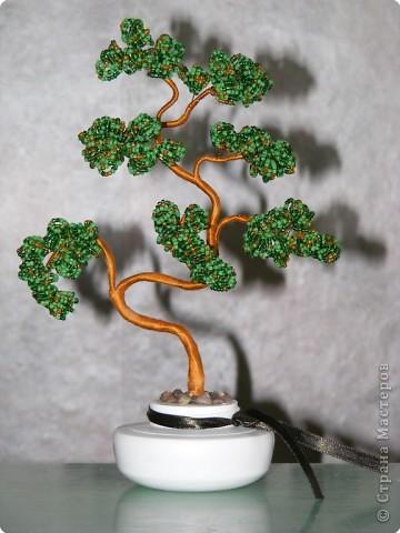 Бисероплетение деревья из бисера Бисер фото 1.