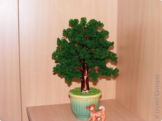 Деревья из бисера | Страна