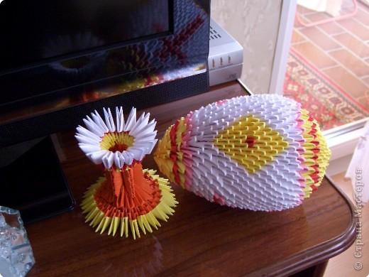 Вот такое яичко у меня получилось, делала к пасхе, это мой первый опыт фото 2