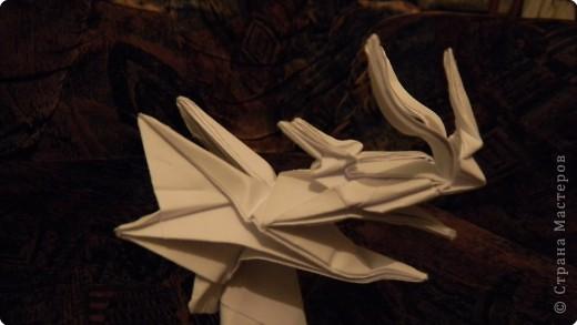 Оригами голова дракона фото 4