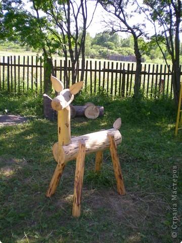 Как сделать поделки в детский сад из дерева