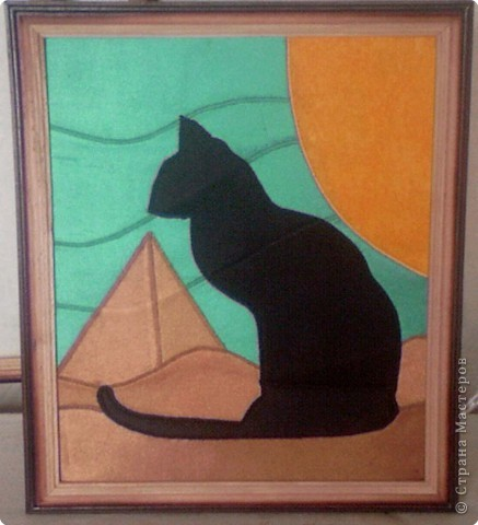 Египетский кот Ткань