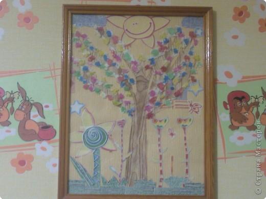 Вот такие две картинки мы сделали с моими детками (2 года и 4 года). Готовые картинки мы поставили в рамочки под стекло.
