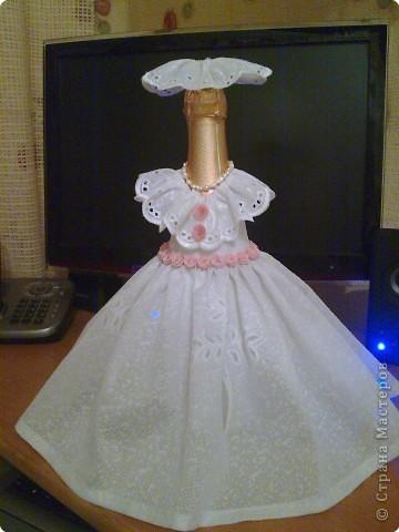 Продолжение подарков на свадьбу сестре. Вот получилась такая невеста. фото 1