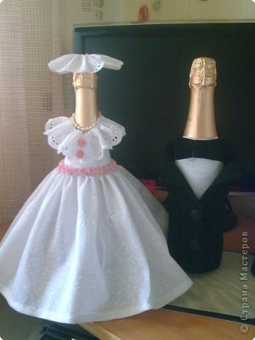 Продолжение подарков на свадьбу сестре. Вот получилась такая невеста. фото 3