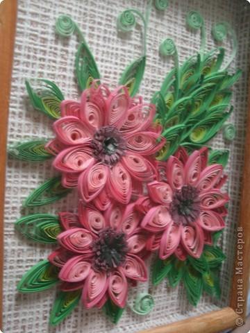 Эти цветочки задумывались, как герберы.  фото 1