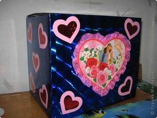 Аппликация: Почтовый ящик для влюблённых. фото 1