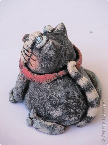 Лепка, Роспись: злостный кошак