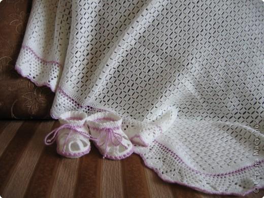Интерьер День рождения Вязание крючком В подарок новорожденному малышу Нитки фото 1