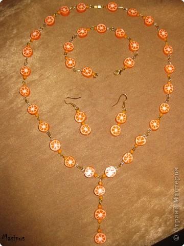 Вот такой набор из апельсинок у меня сегодня вышел)))