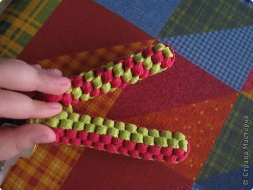 Плетение скубиду.