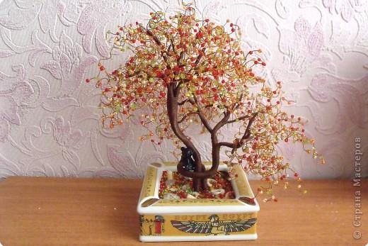 Бисероплетение - деревья -108 из бисера.