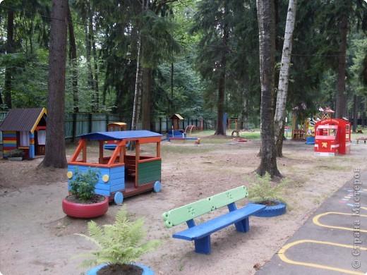 Обустройство участка своими руками в детском саду