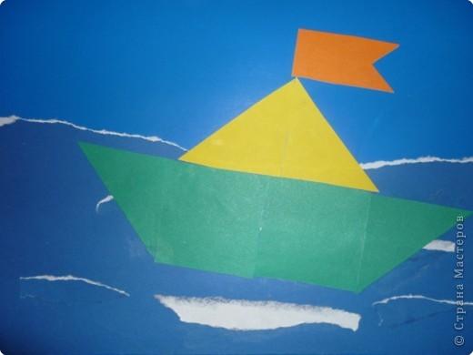 Как сделать поделку кораблик из цветной бумаги - Uinzone.ru
