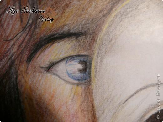Картина панно рисунок Рисование и живопись Маска жизни Карандаш фото 2.