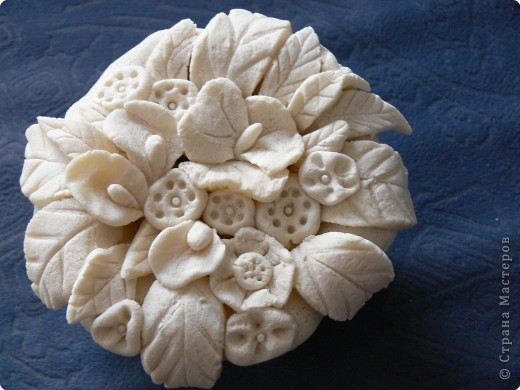 Лепка: Цветы в горшочке. фото 2