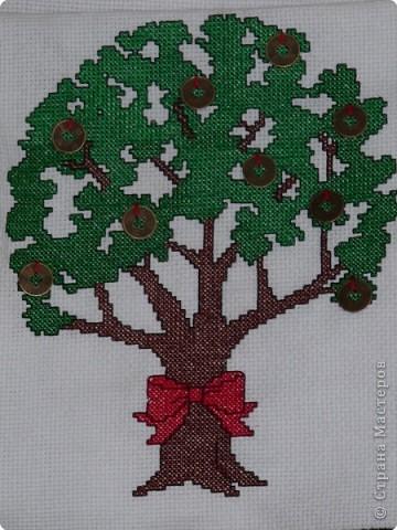 крестом Денежное дерево Канва