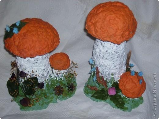 Поделки для детского сада на тему грибы 23