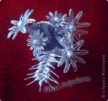 Плетение Букет из фольги