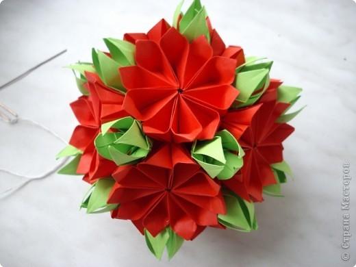 Кусудама Оригами Много Кусудам