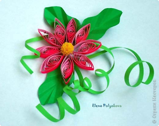 Насмотревшись на замечательные работы в технике квиллинга, решила тоже попробовать свои силы. Вот такие цветочки у меня получились (делала во время дневного сна сына). Бумага для оригами и цветная флюоресцентная. фото 1