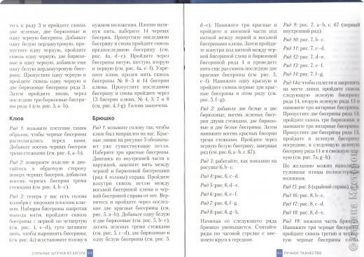 Книга Бисероплетение Схема колибри Бисер фото 2.
