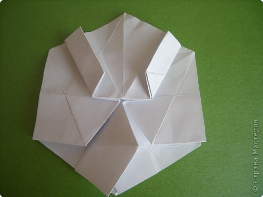 Мастер-класс Оригами Орхидея МК Бумага фото 14