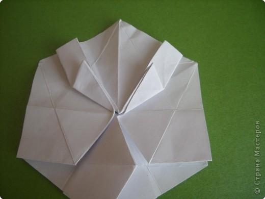 Мастер-класс Оригами Орхидея МК Бумага фото 16