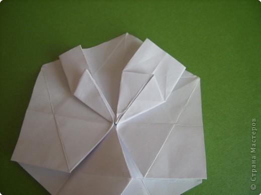 Мастер-класс Оригами Орхидея МК Бумага фото 18