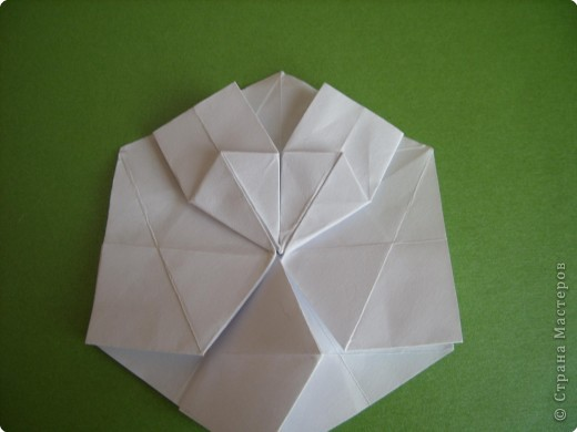 Мастер-класс Оригами Орхидея МК Бумага фото 19