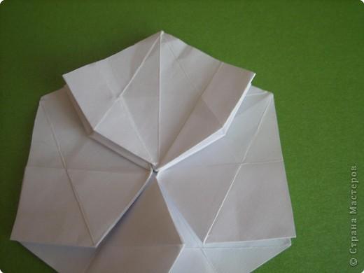 Мастер-класс Оригами Орхидея МК Бумага фото 21