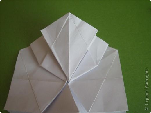 Мастер-класс Оригами Орхидея МК Бумага фото 23