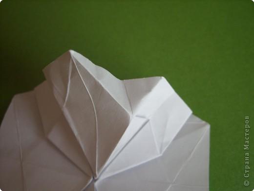 Мастер-класс Оригами Орхидея МК Бумага фото 24