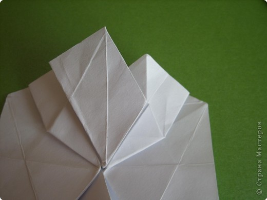 Мастер-класс Оригами Орхидея МК Бумага фото 25