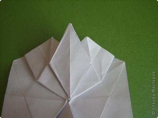 Мастер-класс Оригами Орхидея МК Бумага фото 26