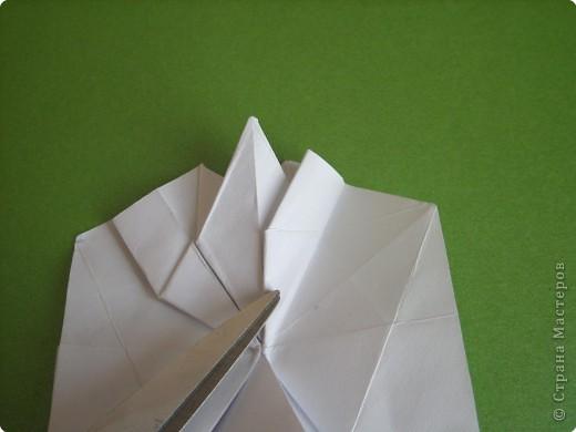 Мастер-класс Оригами Орхидея МК Бумага фото 27
