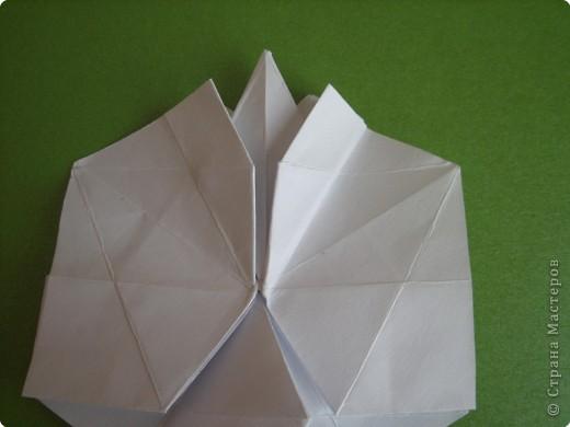 Мастер-класс Оригами Орхидея МК Бумага фото 28