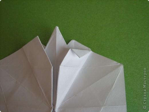 Мастер-класс Оригами Орхидея МК Бумага фото 29