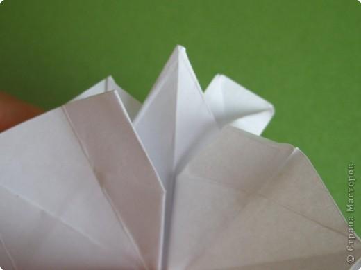 Мастер-класс Оригами Орхидея МК Бумага фото 30